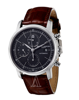钟表海淘:BAUME & MERCIER 名士 Classima Executives MOA08589 男款机械腕表   1098刀