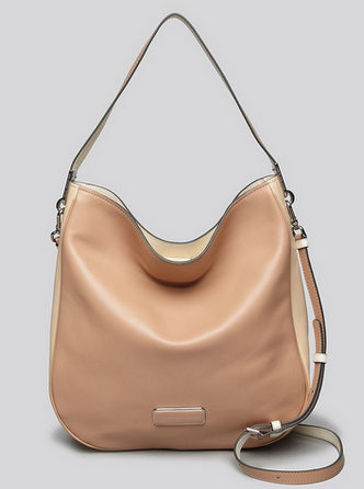 时尚海淘:Marc by Marc Jacobs Ligero Hobo 女士单肩包 157.31刀