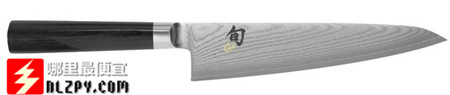 "海淘:Shun""旬""DM0760 Chef's Knife大马士革7寸厨刀79.95刀(60%OFF)"