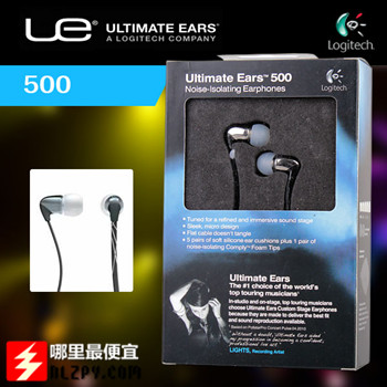 美国amazon:Logitech罗技Ultimate Ears(UE)500vi iphone专用线控耳机35刀(56%OFF)