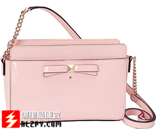 "海淘新低:Kate Spade""凯特丝蓓""女士Beacon Court Angelica手提包148.8刀(40%OFF)额外20%OFF"