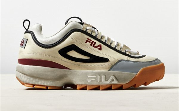 运动海淘:FILA 斐乐 Distressed Disruptor 2 休闲老爹鞋